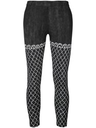 Haculla Fish Net Leggings Black