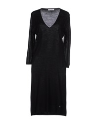 Ballantyne Knee Length Dresses Black