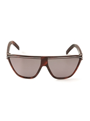 Gianni Versace Vintage Flat Top Sunglasses Brown