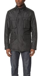 Z Zegna Light Shell 4 Pocket Field Jacket Black