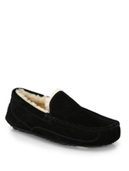 Ugg Ascot Suede And Shearling Slippers Espresso Sand Chestnut Black Charcoal
