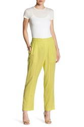 Bcbgmaxazria Wide Leg Pant Yellow
