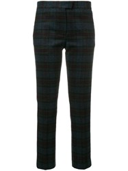 Paul Smith Ps By Tartan Trousers Grey