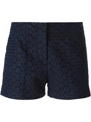 Joseph 'Wren' Embroidered Shorts Blue