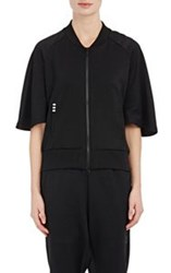 Y 3 Tech Jersey Track Jacket Black