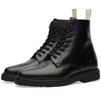 Common Projects Standard Combat Boot Black