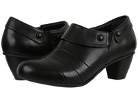 Drew Shoe Ashton Black Smooth Leather Women's Shoes