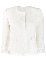 Tagliatore Milly Jacket White