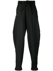 Onebyme Zoot Trousers Men Wool 2 Black