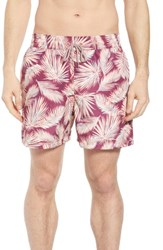 Maaji Bommie Reversible Swim Trunks Red