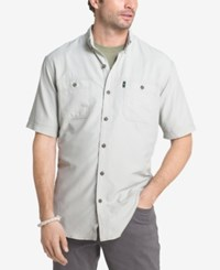 G.H. Bass And Co. Men's Explorer Uv Protected Fishing Shirt Storm Gray