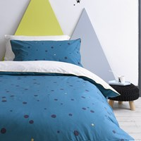 Christy Galaxy Duvet Set Teal Blue
