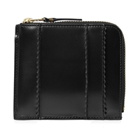 Comme Des Garcons Sa3100rs Raised Spike Wallet Black