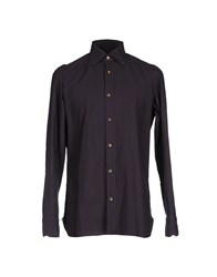 Giampaolo Shirts Brown