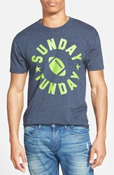 Kid Dangerous 'Sunday Funday' Graphic T Shirt Navy Green