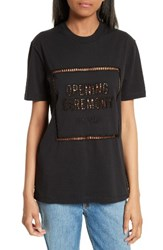 Opening Ceremony Women's Ladder Stitch Logo Tee