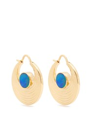 Noor Fares Opal And Yellow Gold Earrings Gold Multi