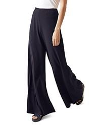 Hobbs London Cara Palazzo Pants Navy