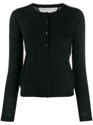 Red Valentino Knitted Cardigan Black
