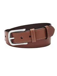 Fossil Classic Leather Belt Cognac