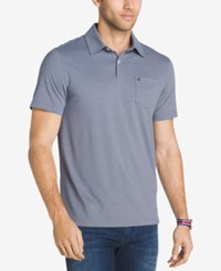 Izod Men's Stretch Performance Polo Heritage Blue