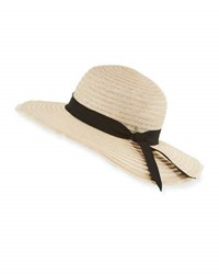 Inverni Indi Braided Hemp Blend Sun Hat Light Brown