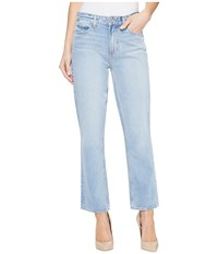 Paige High Rise Sarah Straight In Sachi Sachi Women's Jeans Blue