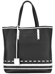 Tod's 'Gipsy Shopping' Tote Women Calf Leather One Size Black