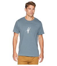 Toes On The Nose Dawn Patrol T Shirt Stormy T Shirt Gray
