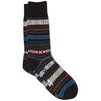 Barbour Boyd Sock Navy Mix
