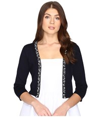 Rsvp Frankfort Embellished Sweater Navy Women's Sweater