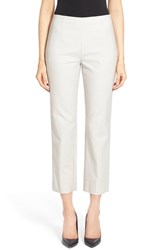 Women's Nic Zoe 'Perfect' Side Zip Ankle Pants Powder