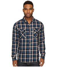 Huf Taylor Flannel Shirt Red Men's Clothing