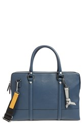 Ted Baker London Awol Leather Document Bag Blue Navy