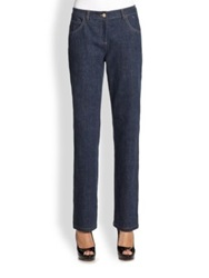 St. John Straight Leg Jeans Denim