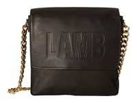 L.A.M.B. Ife Black Shoulder Handbags