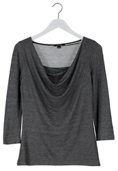 Comma Long Sleeved Top Grey
