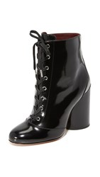 Marc Jacobs Tori Lace Up Booties Black