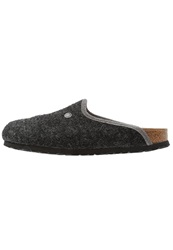 Birkenstock Amsterdam Slippers Anthracite Dark Gray