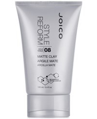 Joico Style Reform Matte Clay 3.4 Oz From Purebeauty Salon And Spa No Color