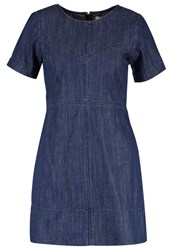 Abercrombie And Fitch Denim Dress Medium Wash Blue Denim