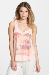 Rip Curl 'Summer Break' Tank Juniors Peach