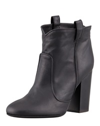 Laurence Dacade Pete Pull On Leather Ankle Boot Black