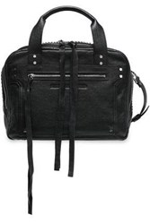 Mcq By Alexander Mcqueen Woman Studded Leather Shoulder Bag Black