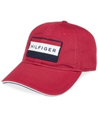 Tommy Hilfiger Men's Cole Cap Core Red