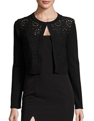 Tommy Hilfiger Lace Accented Cardigan