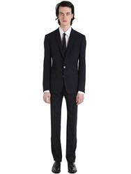 Dolce And Gabbana Stretch Wool Toile Suit