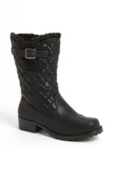 Women's Trotters 'Blizzard Iii' Boot Black Faux Leather