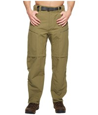 The North Face Paramount Trail Convertible Pants Burnt Olive Green Men's Clothing