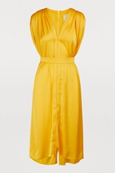 Maison Rabih Kayrouz Sleevelss Midi Dress Sunflower Yellow